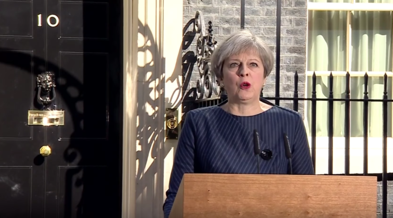 Theresa May, announcing a snap General Election