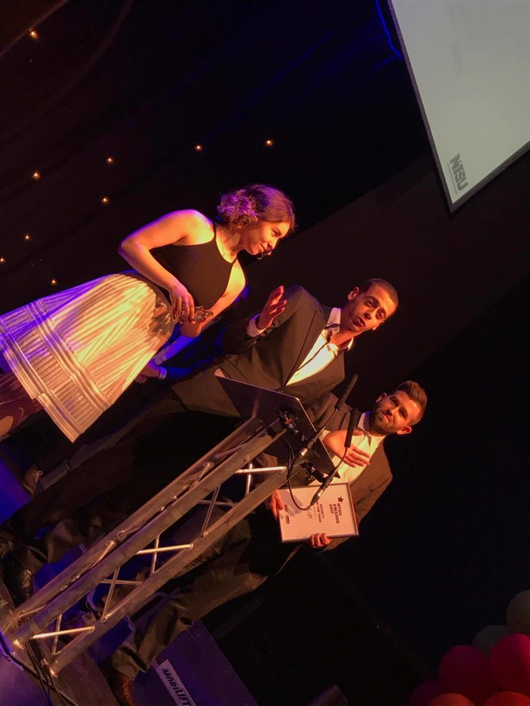 Fly FM receive Society of the Year award