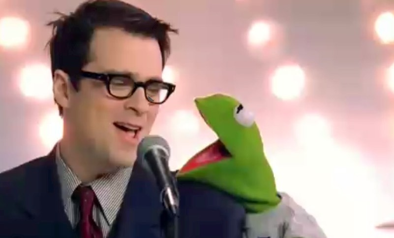 Weezer's Rivers Cuomo believes there is a method to writing great music, by studying many other great songs... not a select few the same year after year. (Picture: Weezer - Dope Nose with Kermit - right)