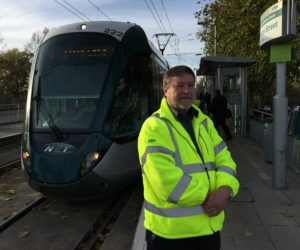 Louis Walmsley of NET Trams